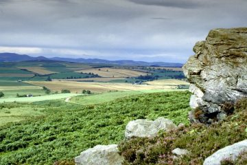 Kyloe Hills Northumberland trip england