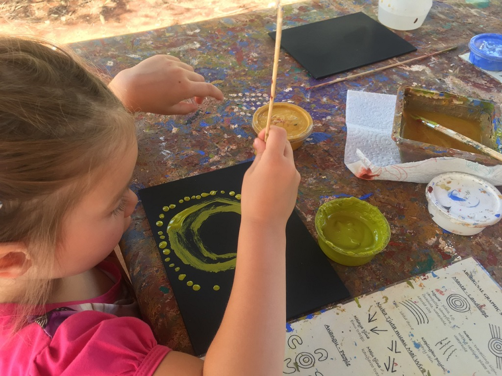 uluru dot painting allegra painting
