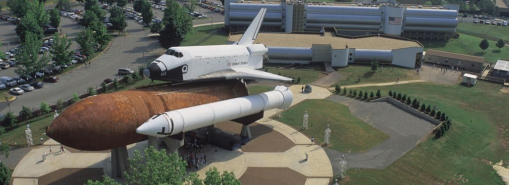 Huntsville US Space And Rocket Shuttle & Marriott