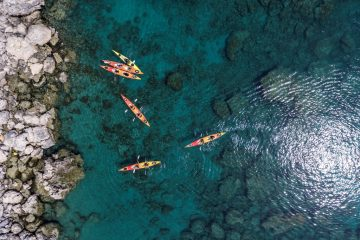 sea kayak Rhodes Greece day trip to Lindos best summer holidays