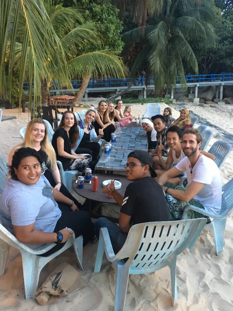 Turtle Conservation, Malaysia - Volunteer Dinner