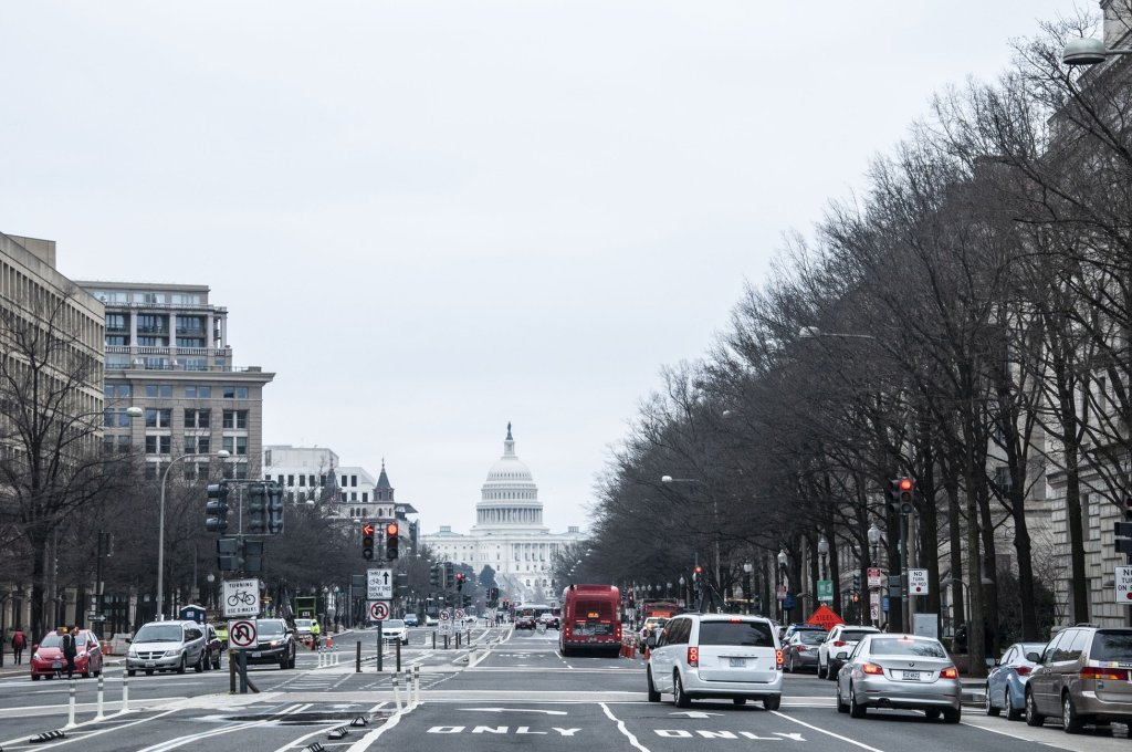 Pennsylvania Avenue, Washington DC, USA