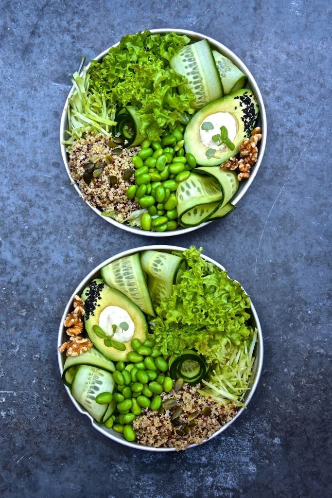 The Symmetry Salad - avocado recipe - 683 x 1024