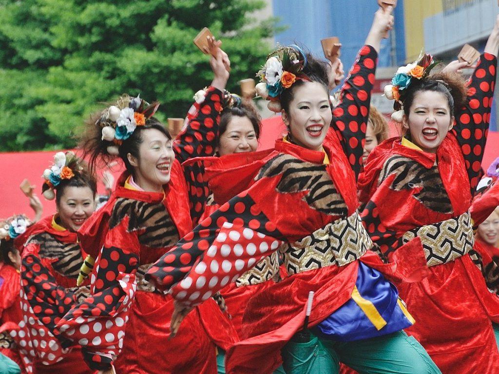 Yosakoi Festival, Japan