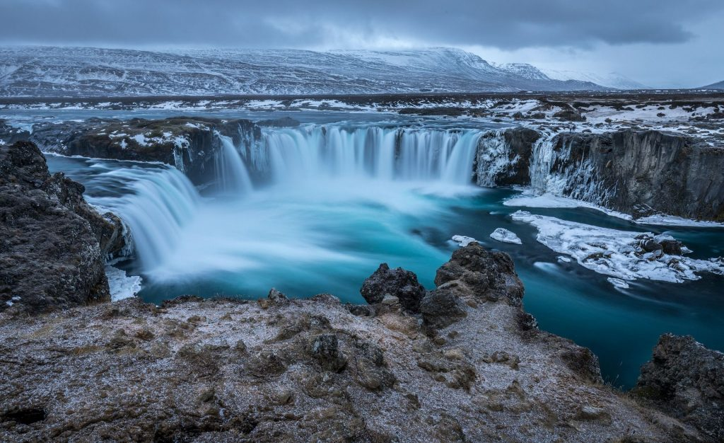 Göoafoss waterfall, Iceland