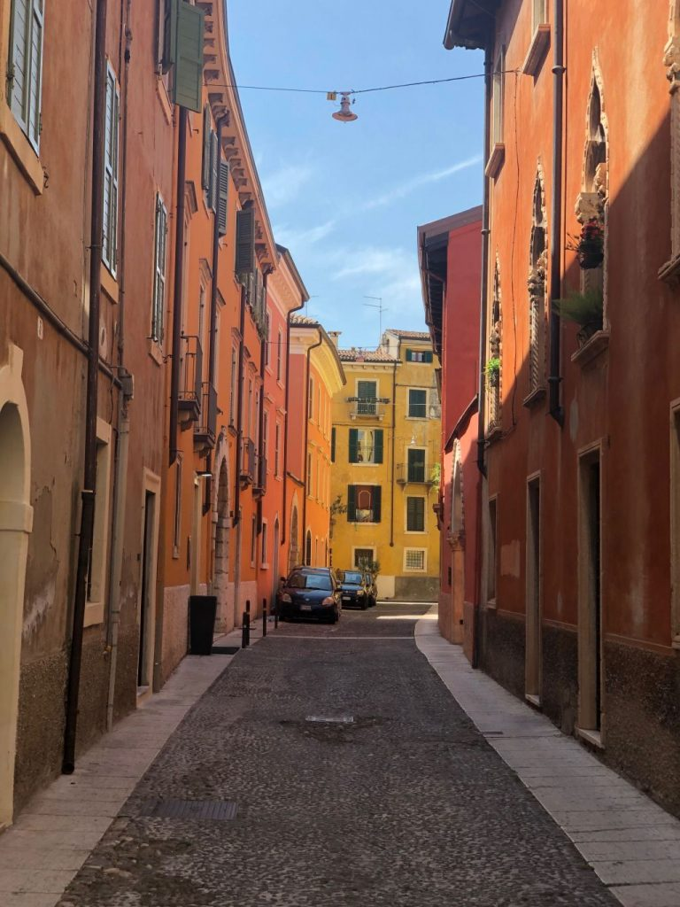 Lake Garda holiday - Street of Verona