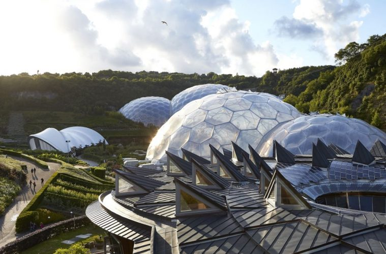 Eden Project: A Rainforest Housed in Iconic Domes is a top UK attraction