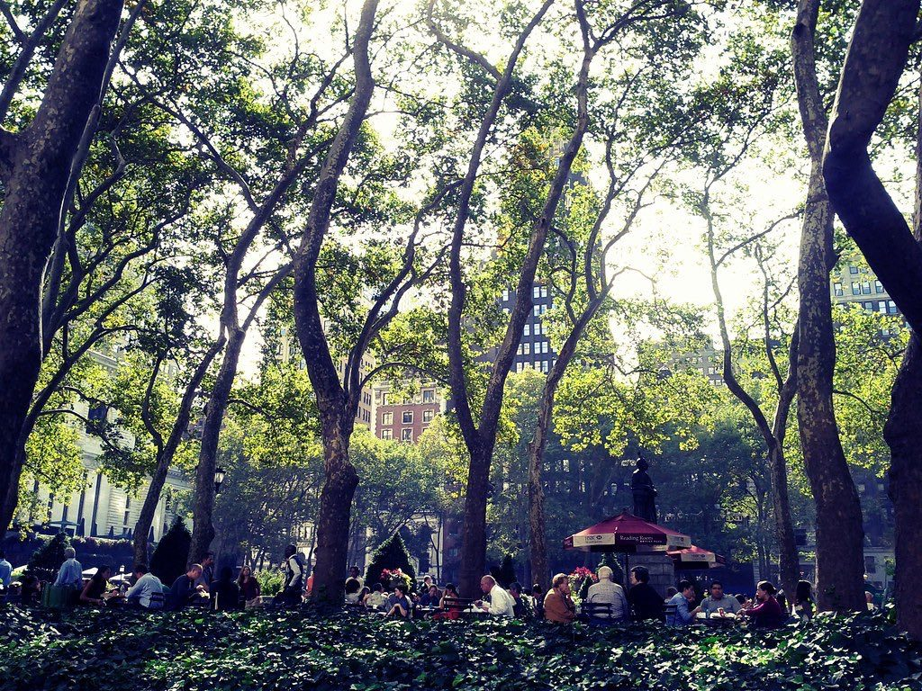 Byrant Park NYC