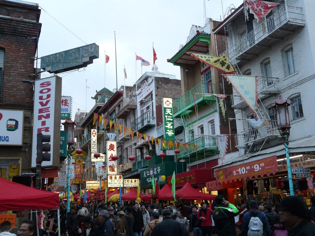 Chinatown -- San Francisco