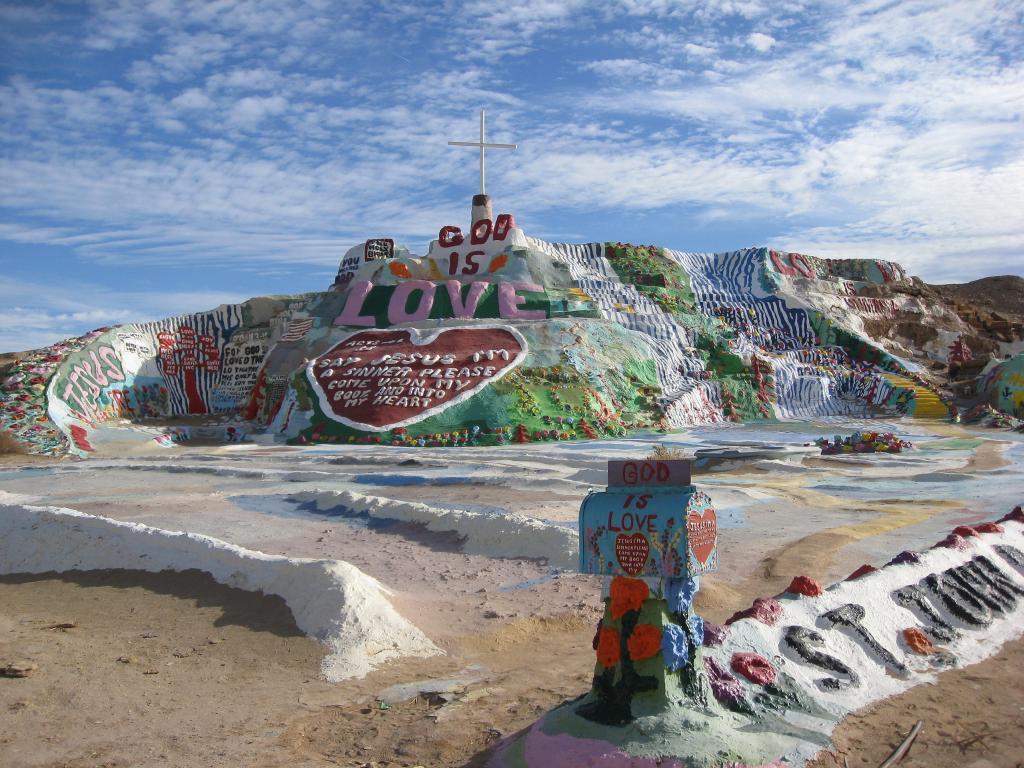 Salvation Mountain, California--America's strangest attractions