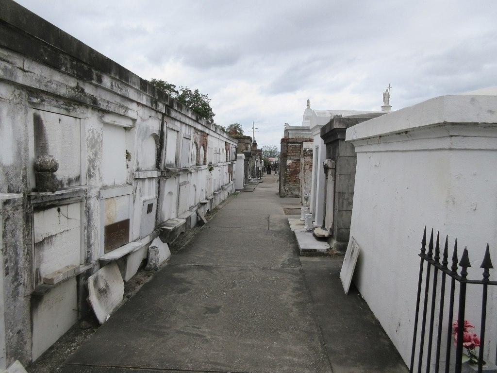 St Louis Cemetery, New Orleans, Louisiana