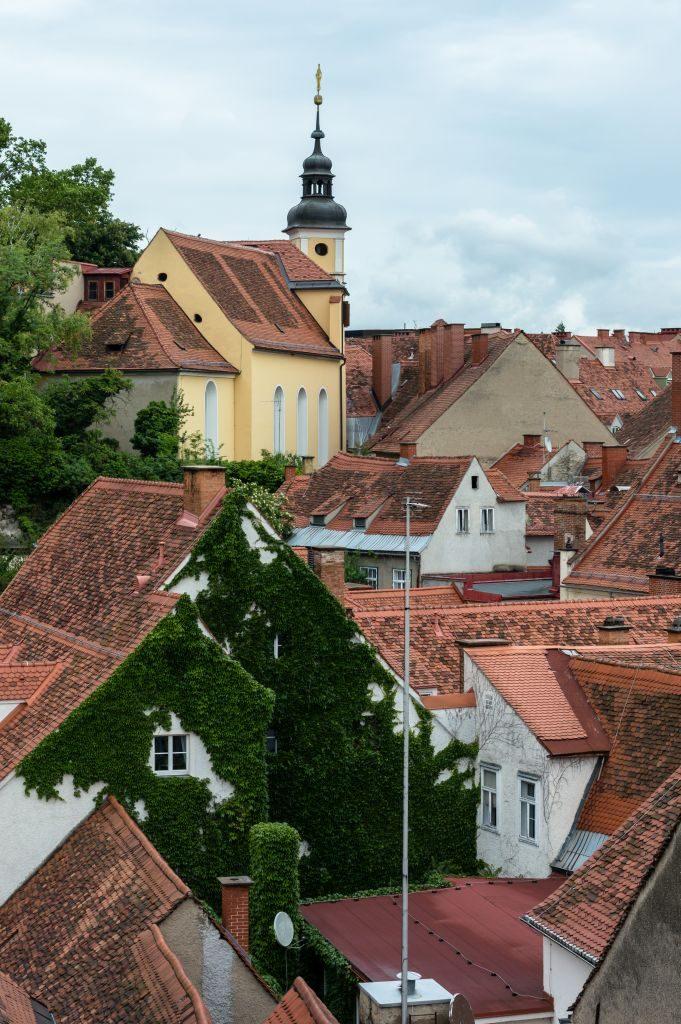 city-roofs graz austria