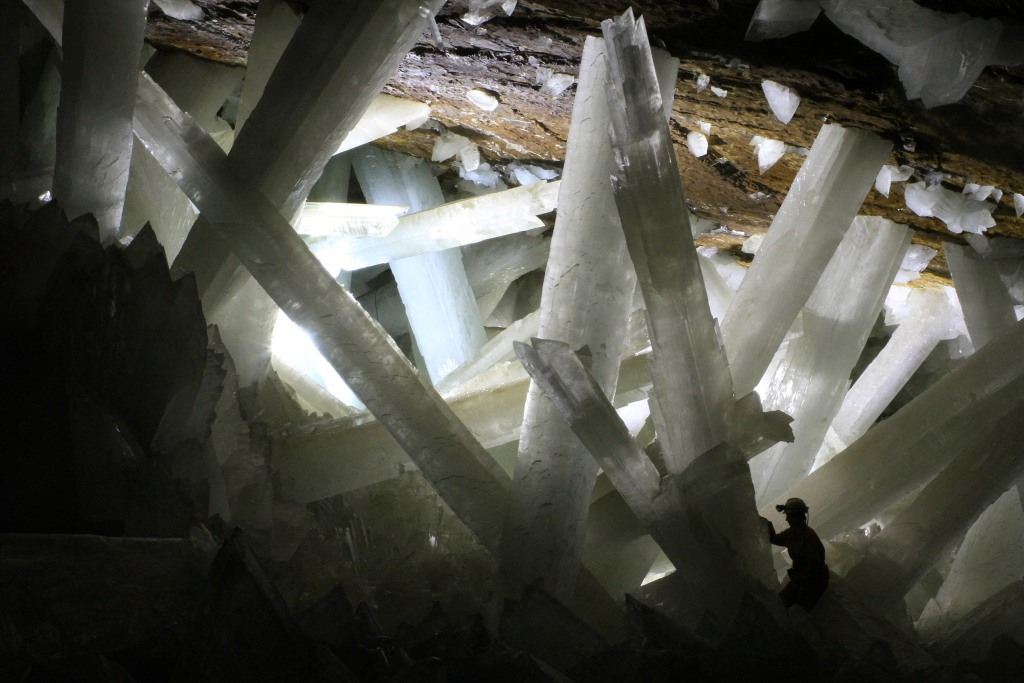 Cave fo the Crystals--Mexico