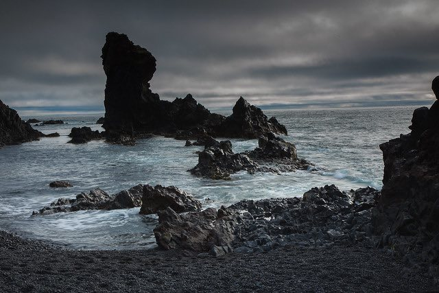 Djúpalón Beach, Iceland