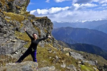 Indrahar pass himachal pradesh India best hiking trips