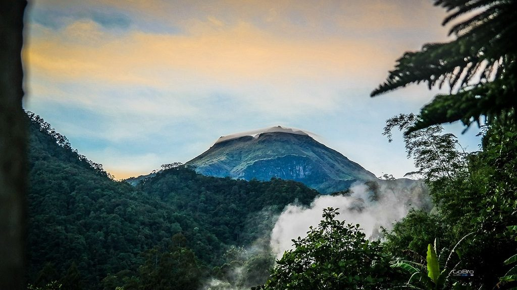 The Ring of Mount Apo Phillippines