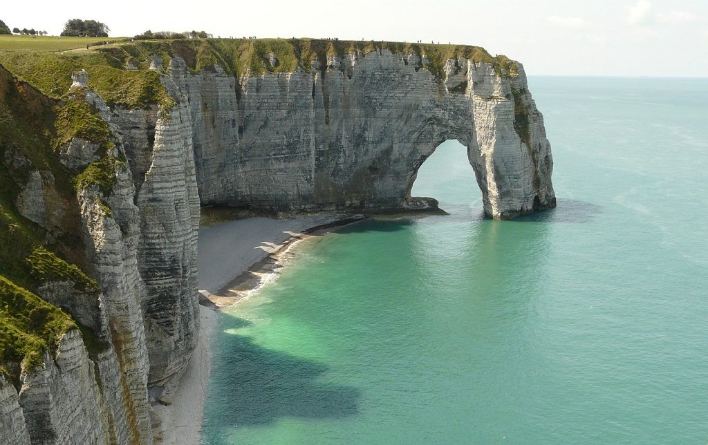 etretat cliffs france lesser-known travel destinations world