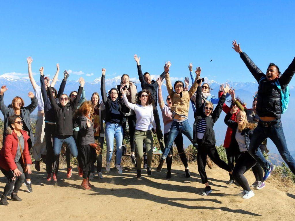 Group Jump Nepal