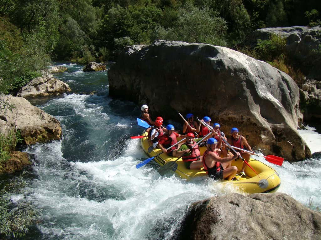 Best places for rafting trips around the world