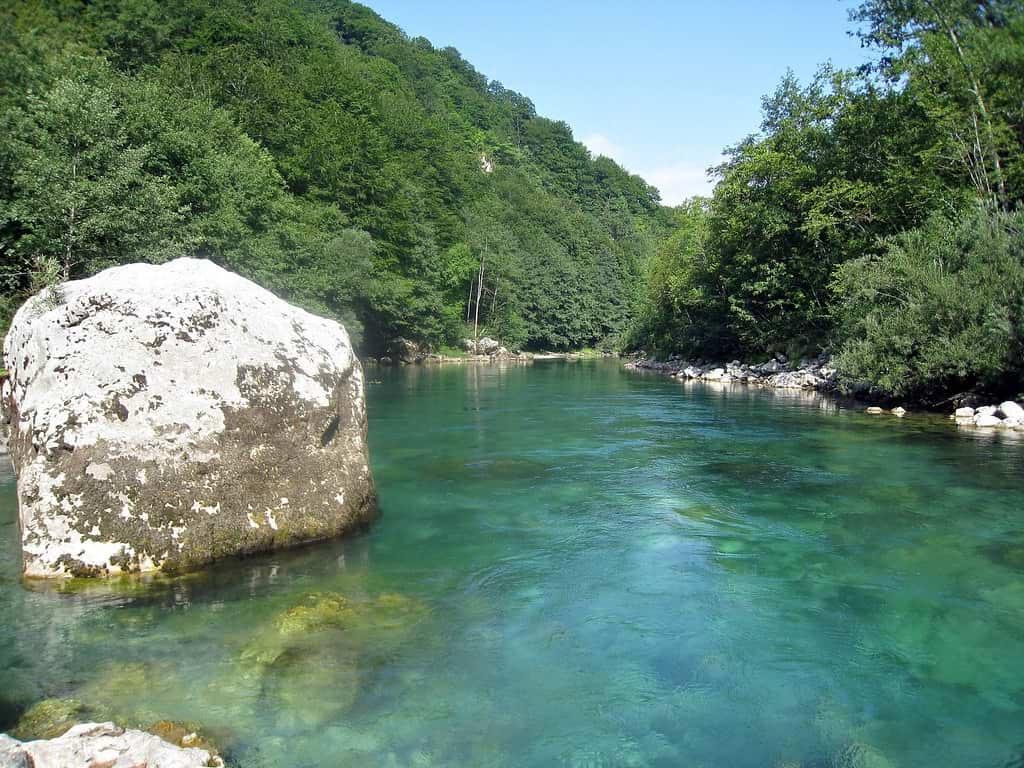 Tara River in Montenegro