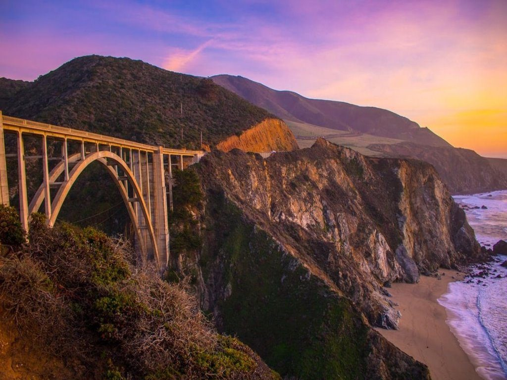 Bixby Creek Bridge, Monterey, California Monterey and Carmel Tour
