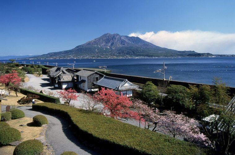 Sakurajima Volcano and Senaganen Garden - Kagoshima japan