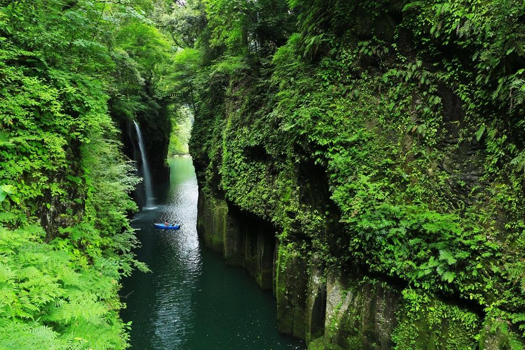 Takachiho Gorge Manai Falls - Miyazaki japan
