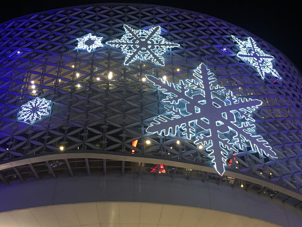 shopping centre christmas chiang mai thailand