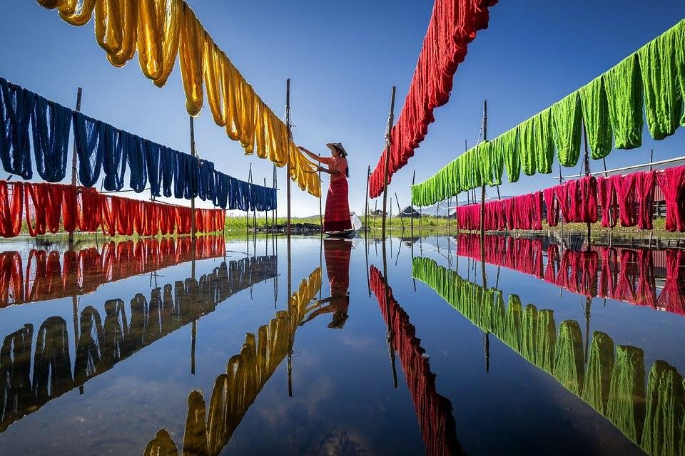 cotton inle lake myanmar