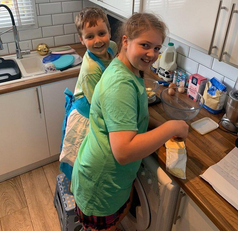 Millie baking