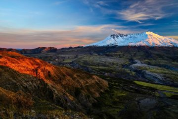Mount St Helens landscape washington 40 Year Anniversary of Mount St Helens Eruption